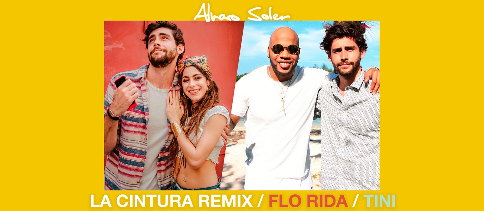 Llega el remix de 'La Cintura', el hit mundial de Alvaro Soler junto a FloRida y Tini