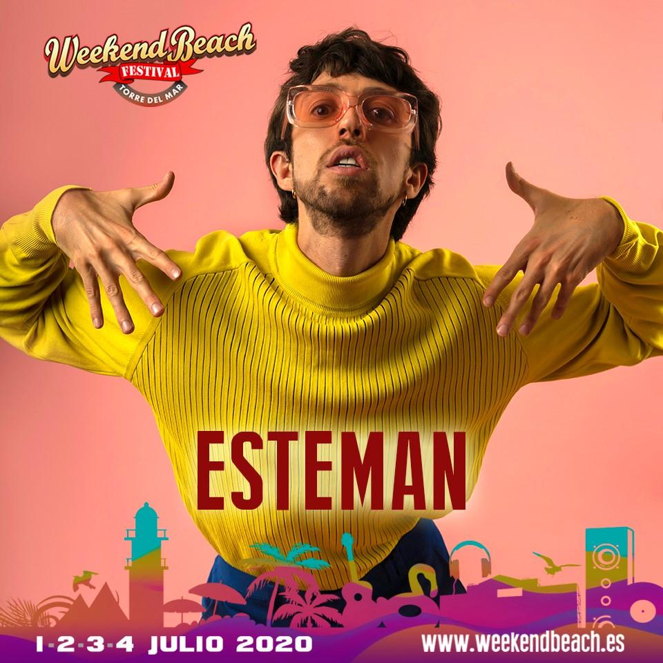 El artista colombianoEsteman visitará España este verano para participar en el festival malagueño Weekend Beach Festival 2020
