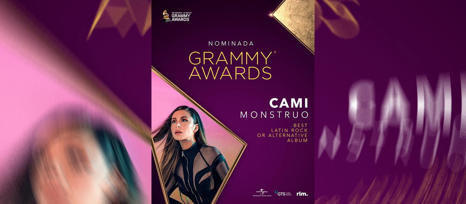 CAMI hace historia al ser la chilena más joven nominada a los Grammy Awards