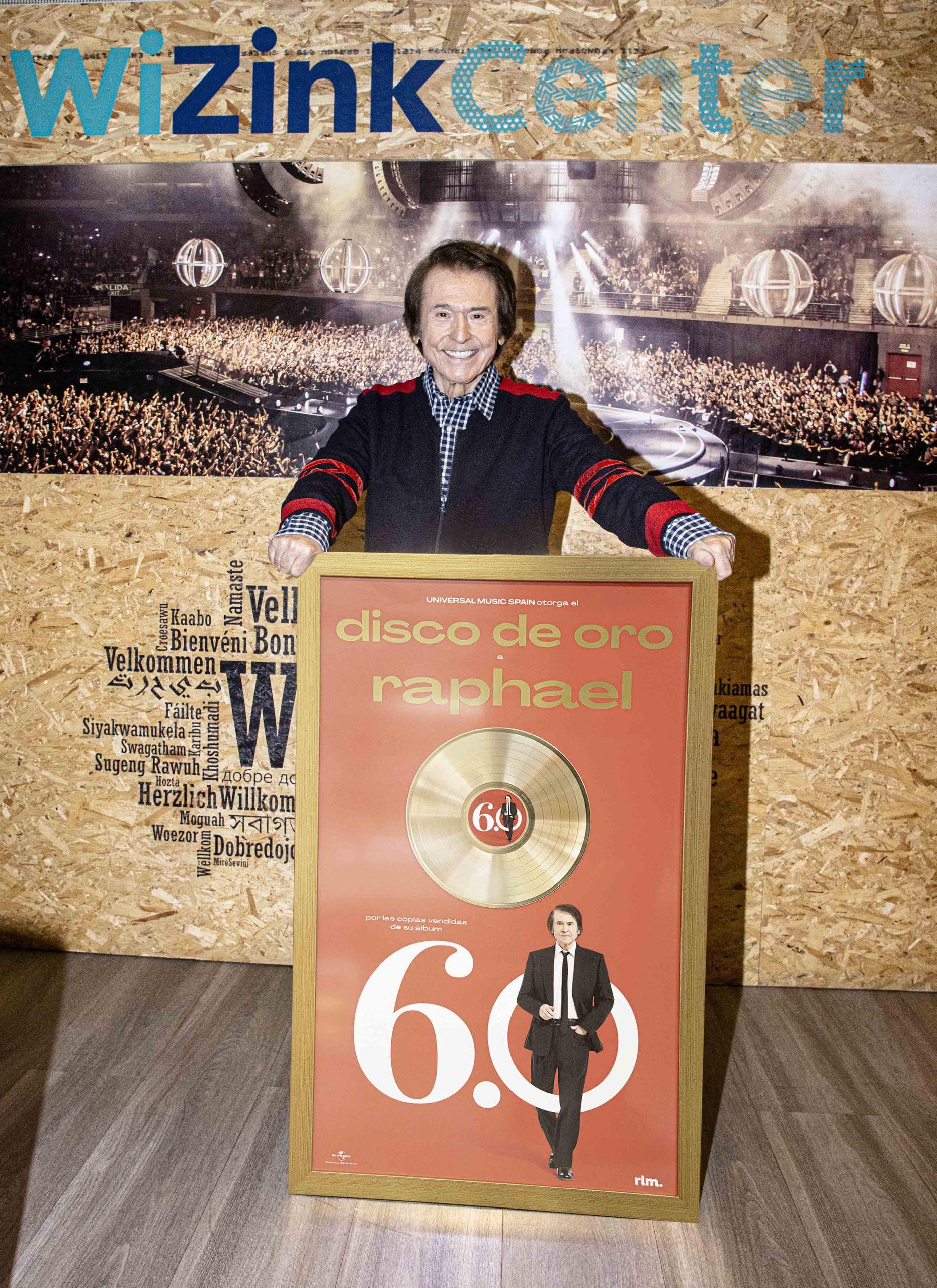 Raphael 60 disco de oro