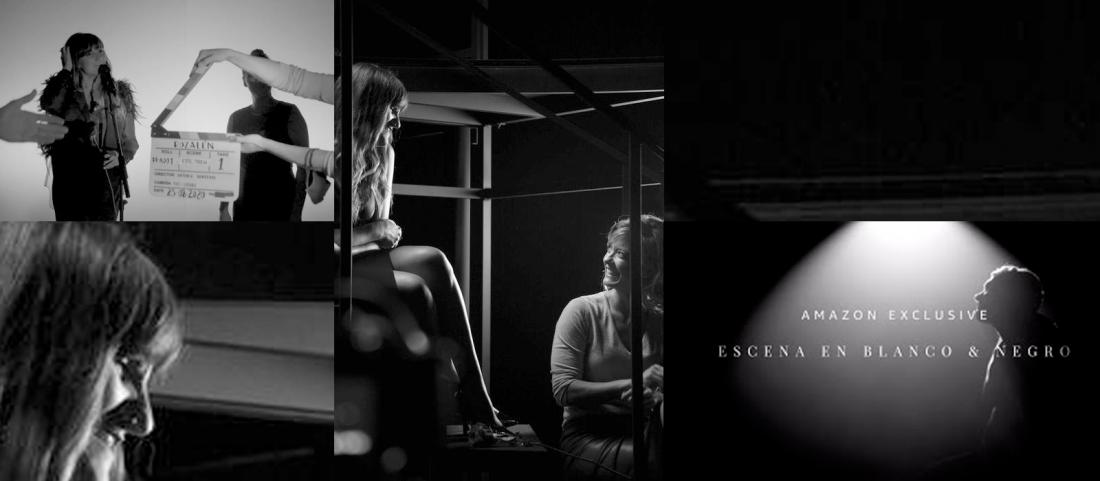 Rozalen escena en blanco y negro