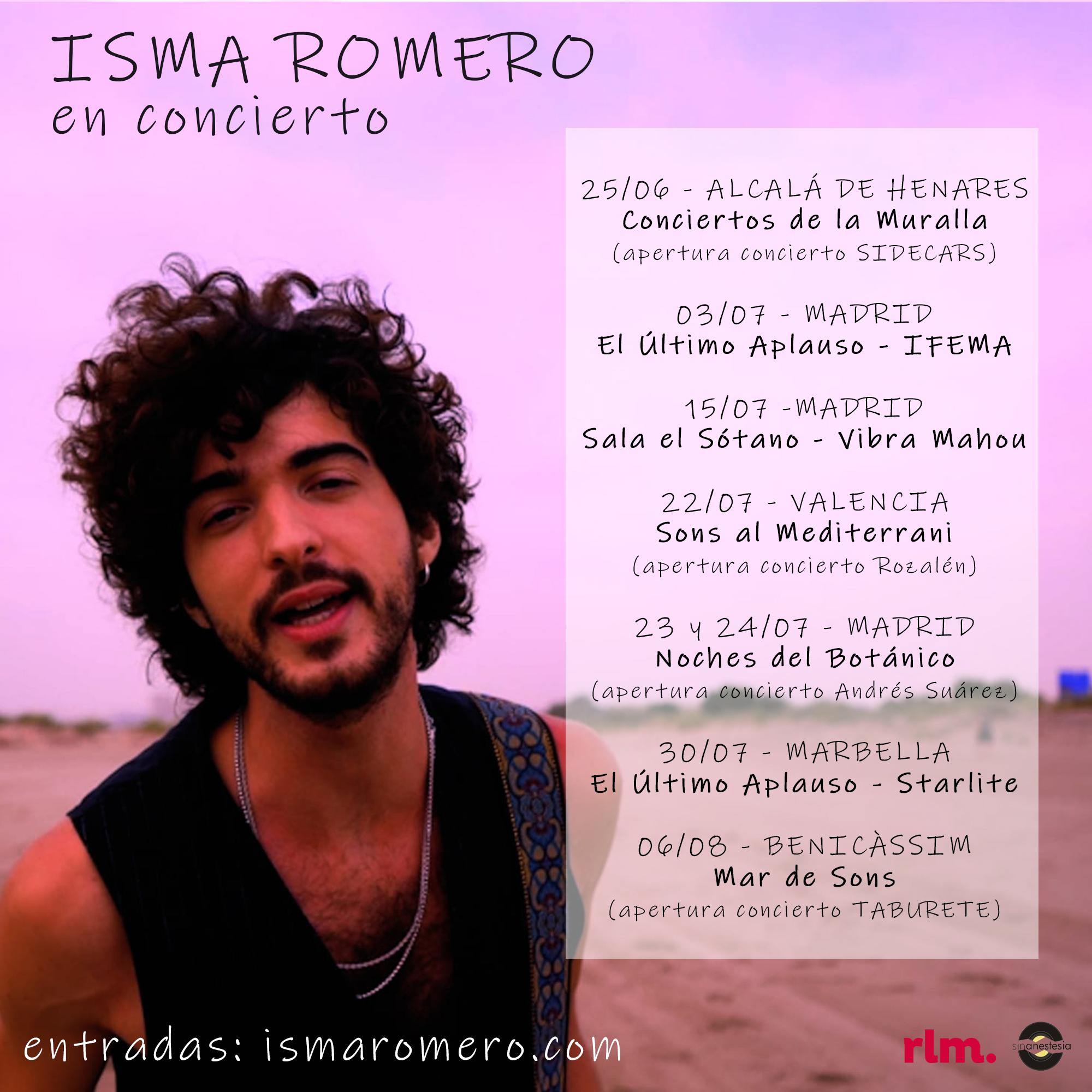Isma Romero en concierto