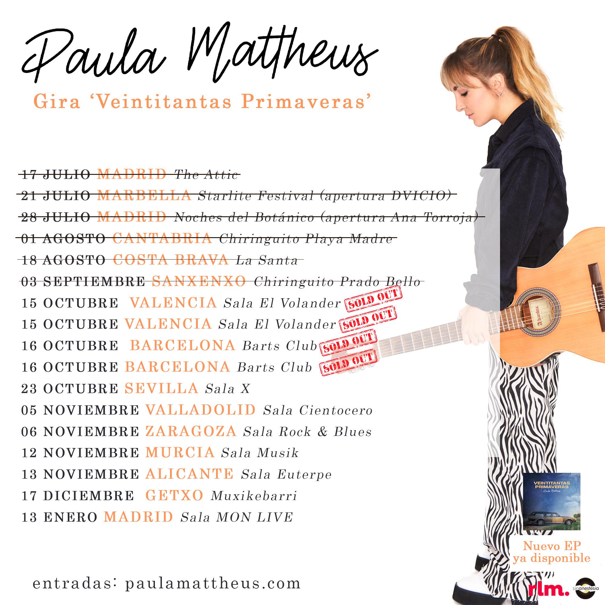 Paula Mattheus gira